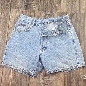 Calvin Klein Vintage Women's Jean Shorts Size 7 Jr